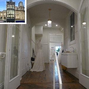Modern Bride building front inlay