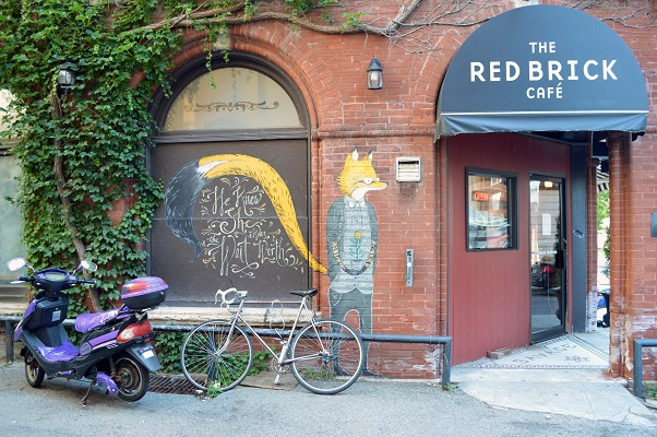 web - Fox at Red Brick by Andrew Frazer 2012 - Photo by Sarah Goldrup 2015