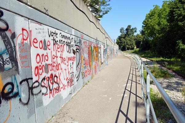web - Graffiti Wall Along Speed River 2 - Sarah Goldrup photo cred 2015