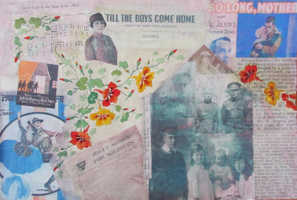 Till the boys come home Heather Nagel wall of art smaller