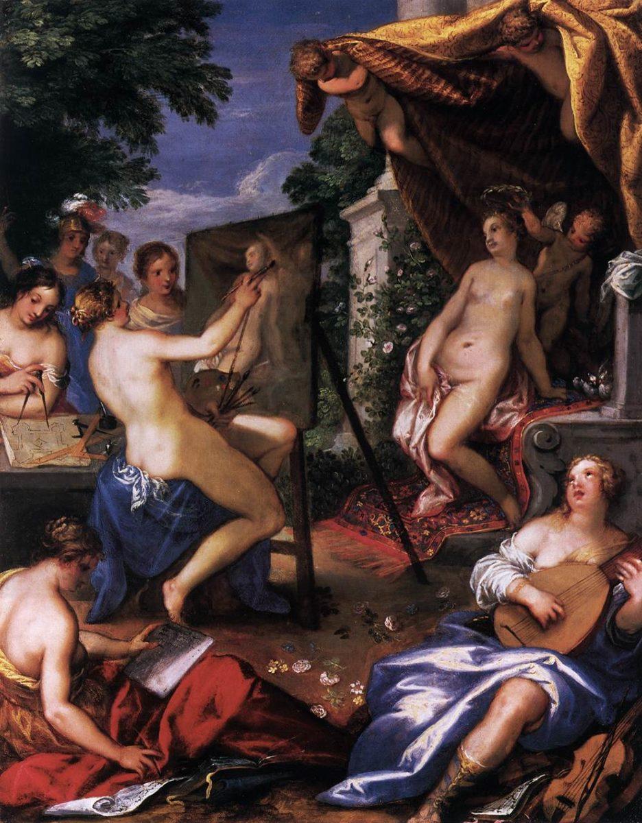 Hans Rottenhammer - Allegory of the Arts - WGA20147