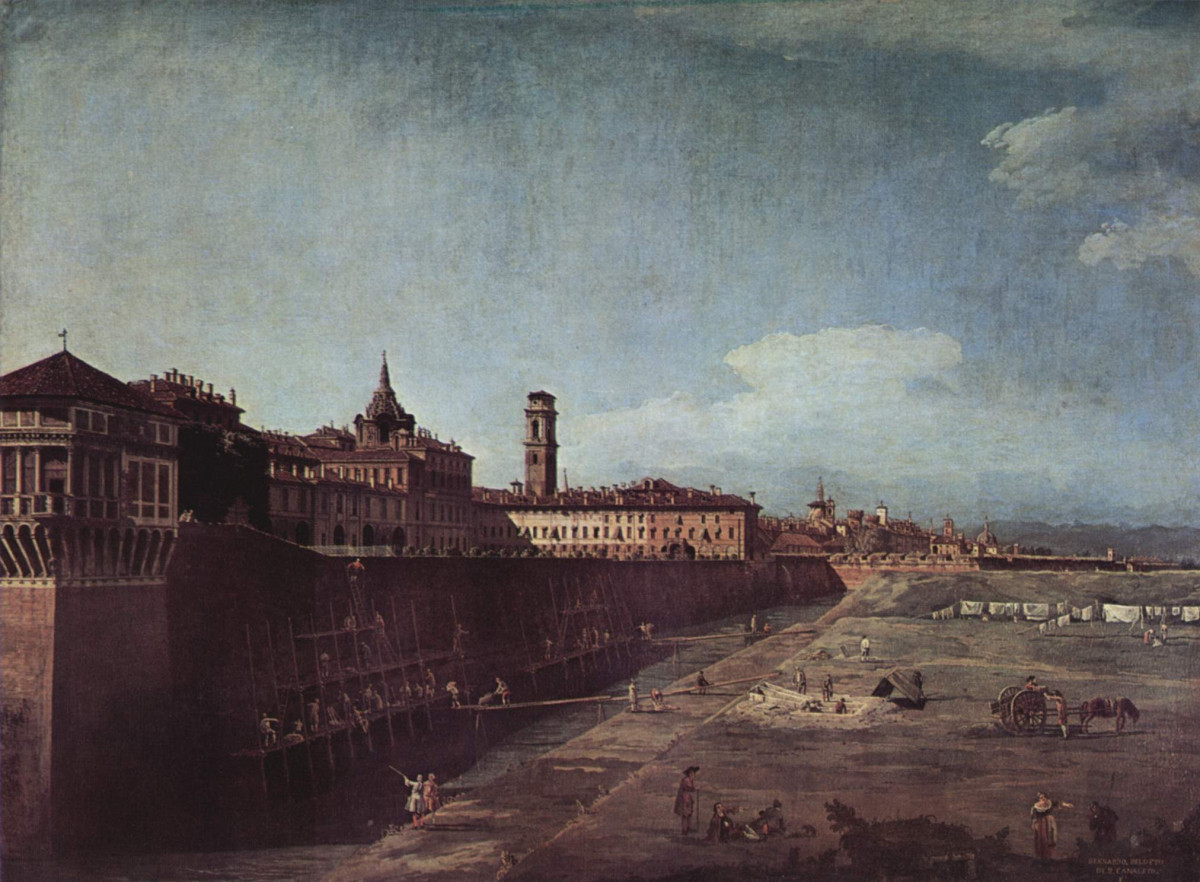Turin Canaletto painting