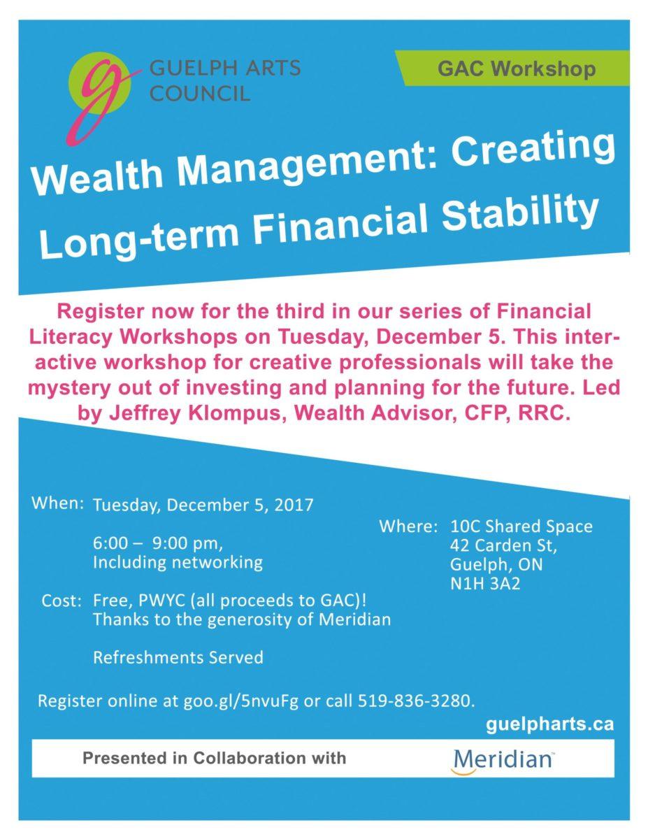 GAC Wealth Management Workshop