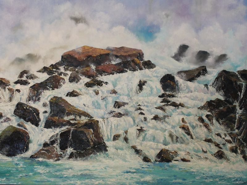 Maria Elena Mazariegos Niagaras Rocks