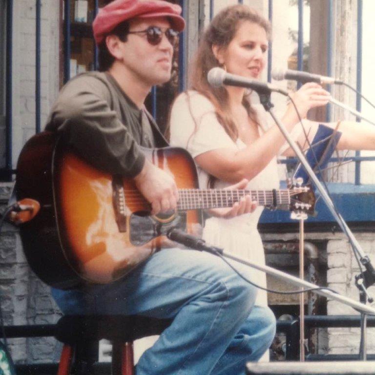 Brenda Lewis Eddie Douglas Cabbagetown Festival 1998