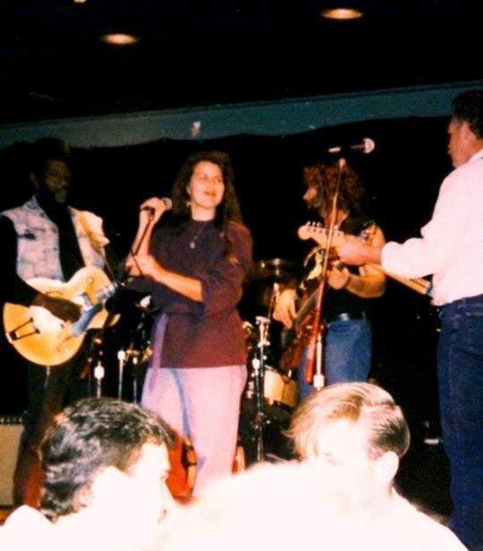Brenda Lewis at Mel Brown Blues Jam early 1990s