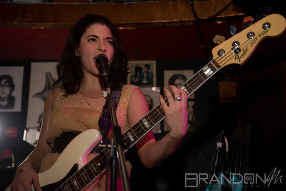 Vanessa Tignanelli of the GALACTICATS photo by Brandon Marsh Photography courtesy of GAIN Music