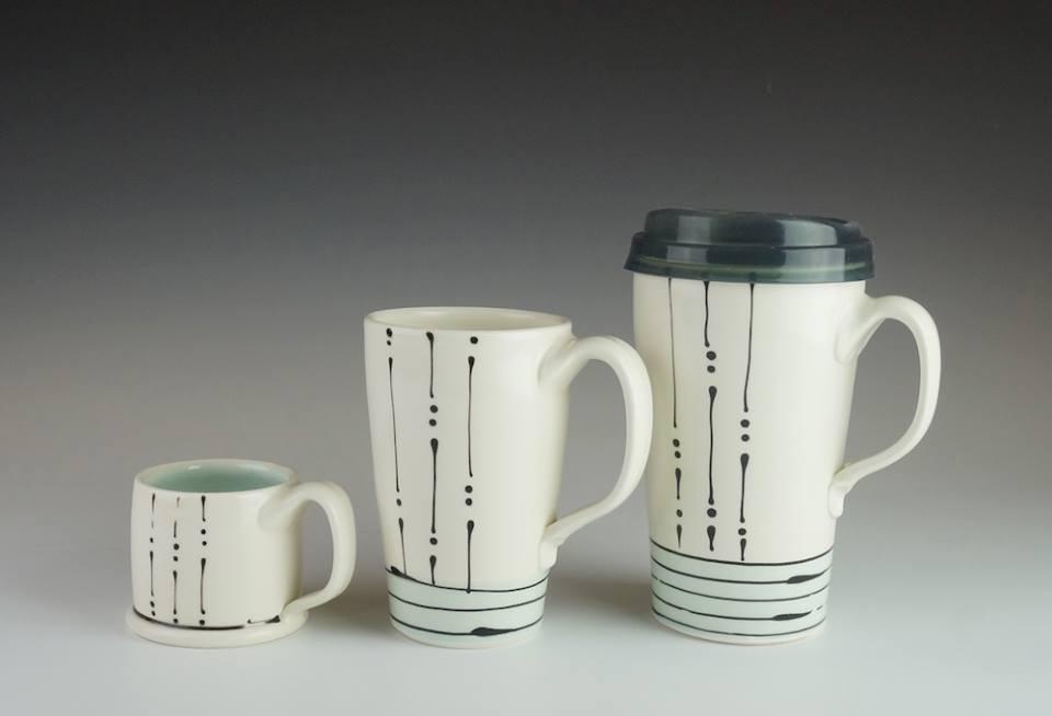 Blue Iris mugs