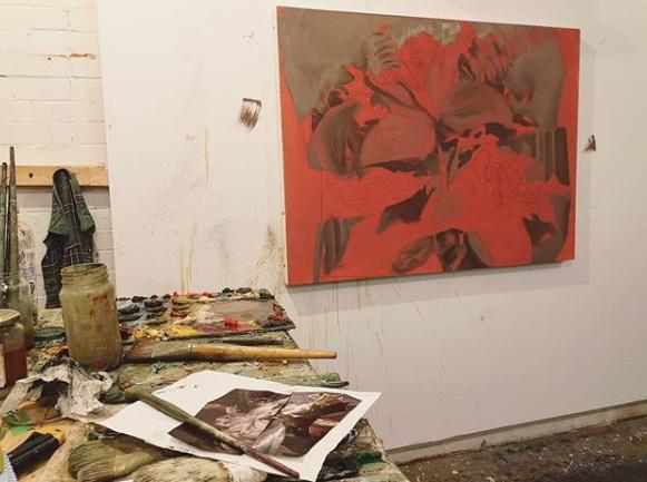 Chelsea Brant in studio 2