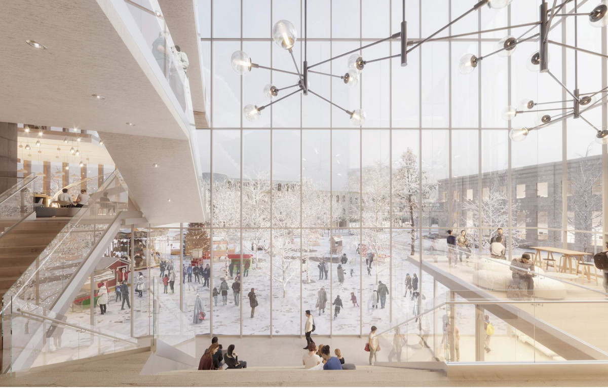 GPL new library Windmill concept drawing
