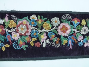 Manitoba museum mystery beadwork do you know who made this