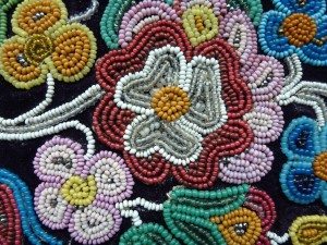 Manitoba museum mystery beadwork do you know who made this 2