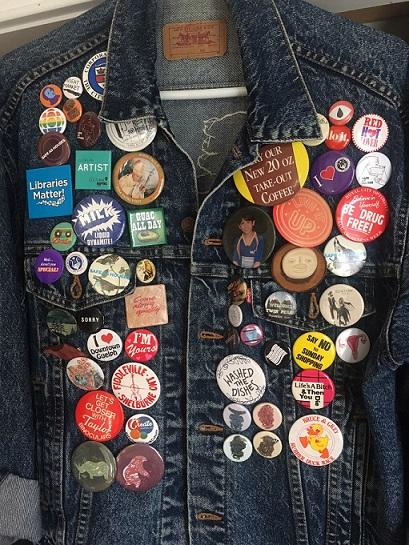 Lauren Taylors amazing button collection