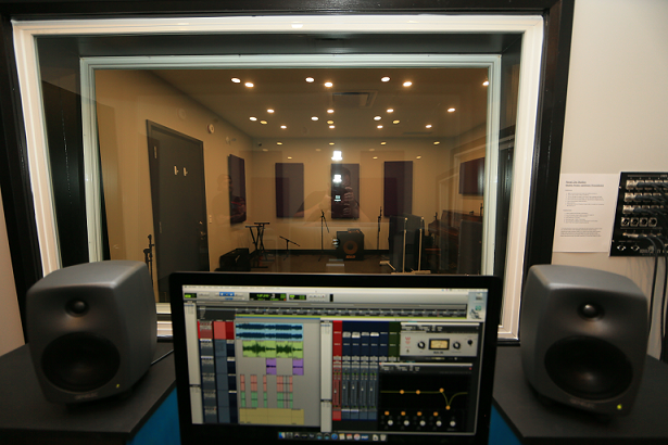Royal City Studios. Control room. Photo credit Ken Sutherlandweb