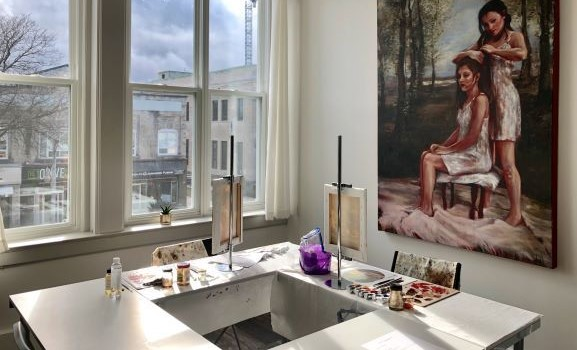 Gritt Gallery offers art classes art consultation portfolio reviews workshops and exhibitions. Photo credit Eleni Bakopoulos web