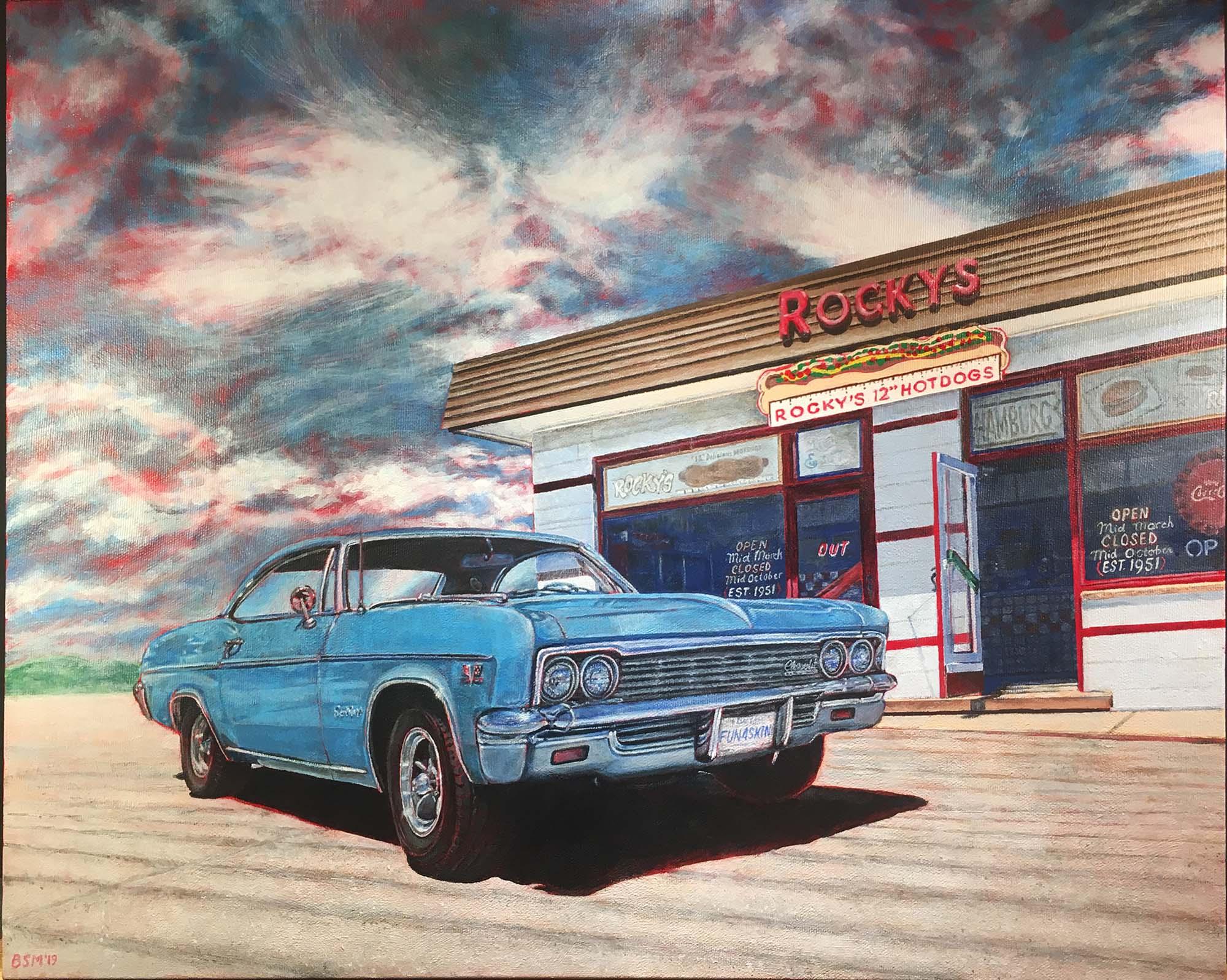 1966 Impala at Rockys small
