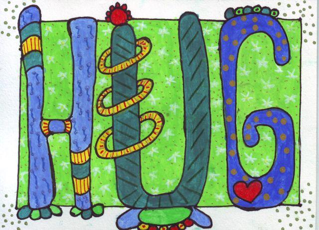 'Hug' by Sue Richards